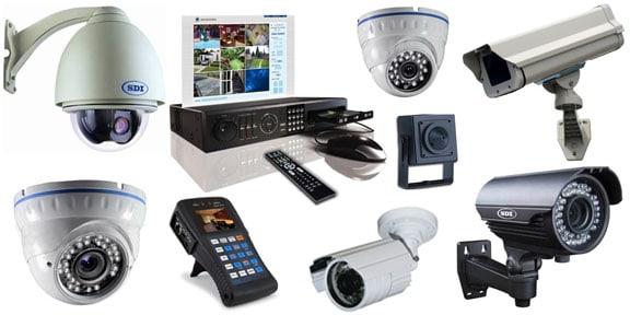 בחירת מצלמות אבטחה