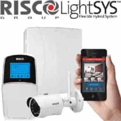 מערכת אזעקה LightSYS 2 + לוח מקשים כותב בעברית + כרטיס רשת + מצלמה VUpoint לצפייה והתראה