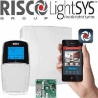 מערכת אזעקה LightSYS 2 + לוח מקשים + כרטיס רשת לאפליקציית Irisco
