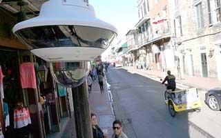 מצלמות אבטחה במקומות ציבוריים