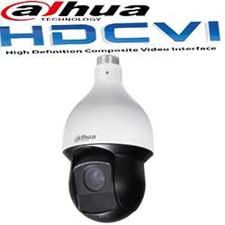 מצלמות אבטחה ממונעות HDCVI