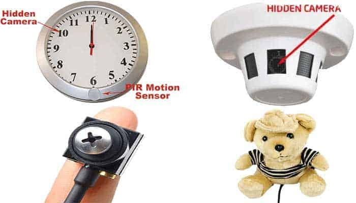 יתרונות בהתקנתמצלמות אבטחה נסתרות