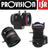 עדשות מצלמות אבטחה provision