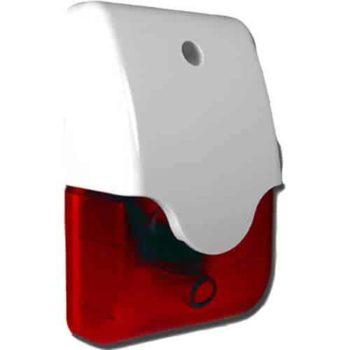 סירנה דקורטיבית משולבת נצנץ להתקנה פנימית