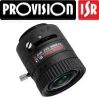 """עדשה למצלמות אבטחה גוף טווח 3.6-10 מ""""מ צמצם אוטומטי 6 מגה פיקסל"""
