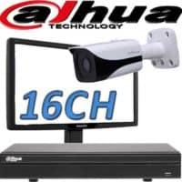 NVR ל 16 מצלמות אבטחה dahua
