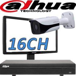 DVR ל 16 מצלמות אבטחה dahua