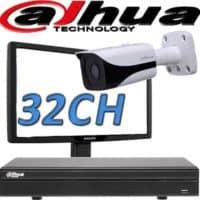 NVR ל 32 מצלמות אבטחה dahua