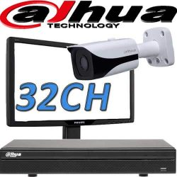 DVR ל 32 מצלמות אבטחה dahua