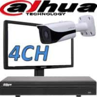 NVR ל 4 מצלמות אבטחה dahua