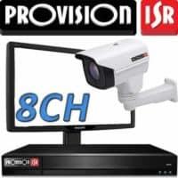 DVR ל 8 מצלמות אבטחה Provision