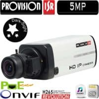 מצלמת IP גוף 5MP תפריט OSD ללא עדשה BX-251IP5