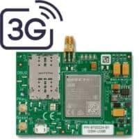מודול סלולרי דור 3 תומך 2 כרטיסי סים, מסוג CLM302 להתקנה על הכרטיס של ה FORCE מגיע עם אנטנה ו 2 מטר כבל.