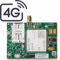מודול סלולרי דור 4 תומך 2 כרטיסי סים, מסוג CLM402 להתקנה על הכרטיס של ה FORCE מגיע עם אנטנה ו 2 מטר כבל.