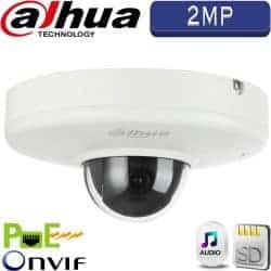 """מצלמה כיפה ממונעת IP רזולוציה 2MP עדשה 3.6 מ""""מ אנטי וונדל HDB4200F-PT"""