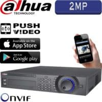 מערכת הקלטה NVR ל 32 מצלמות אבטחה IP עד 2MP  דיסק 4TB עד 8 דיסקים קשיחים דגם NVR7832