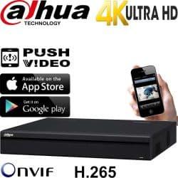 מערכת הקלטה NVR ל 32 מצלמות אבטחה IP עד 8MP  דיסק 3TB דגם NVR4232-4K