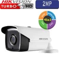 """מצלמת אבטחה צינור אינפרה 2MP טורבו Hikvision עדשה 3.6 מ""""מ טווח הארה 40  מטר דגם DS-2CE16H5T-IT3"""