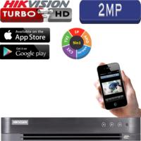 מערכת הקלטה Hikvision ל 4 מצלמות אבטחה רזולוציה 2MP דיסק 1TB