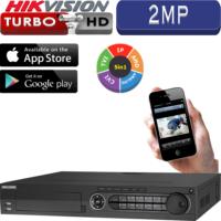 מערכת הקלטה Hikvision ל 32 מצלמות אבטחה + 16IP רזולוציה 2MP דיסק 1TB