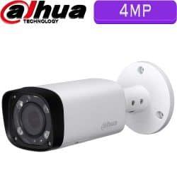 """מצלמת צינור HDCVI רזולוציה 4MP עדשה משתנה 2.7-12 מ""""מ טווח הארה 30 מטר"""