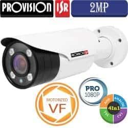 """מצלמת צינור 2MP עדשה משתנה חשמלית 2.8-12 מ""""מ"""