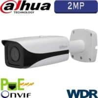 """מצלמת צינור IP אינפרה 2MP עדשה 3.6 מ""""מ טווח הארה 40 מטר כולל WDR מלא (120db) כולל אנליטיקה IPC-HFW4221E"""