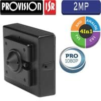 """מצלמת אבטחה נסתרת Pin-Hole רזולוציה 2MP עדשה 3.7 מ""""מ"""