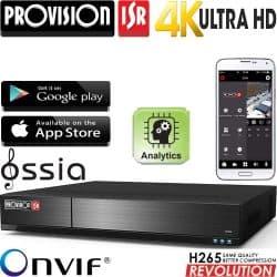 מערכת הקלטה NVR ל16 מצלמות רזולוציה 4K 8MP דיסק 2TB