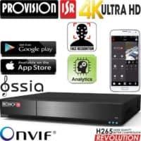 מערכת הקלטה NVR ל16 מצלמות  רזולוציה 4K 8MP דיסק 2TB זיהוי פנים
