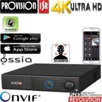 מערכת הקלטה ל 64 מצלמות אבטחה רזולוציה 4K 8MP דיסק 4TB