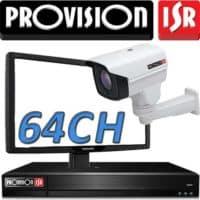 Nvr ל 64 מצלמות אבטחה Provision
