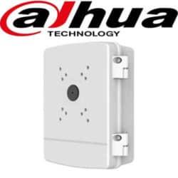 קופסת חיבורים להסתרת כבלים ל מצלמות אבטחה ממונעות עם ציר לפתיחה וסגירה דגם: PFA140