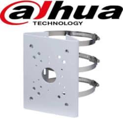 מתאם להתקנת מצלמות אבטחה ממונעות או מצלמת זום חשמלי לעמוד עגול דגם: PFA152