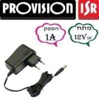 ספק כח 12V 1A מיוצב – דגם: PR -12V1A