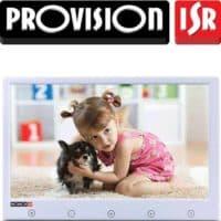 מסך מצלמות אבטחה דיגיטלי 10 אינץ LCD רזולוציה 1024×600 כניסת VGA,HDMI,AV עם כפתורי מגע, עיצוב דק במיוחד PR-IPS10P
