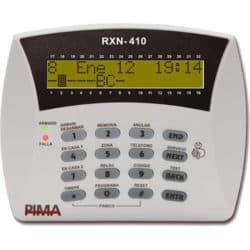 לוח מקשים RX-410 למערכת אזעקה פימא בעל צג מורחב