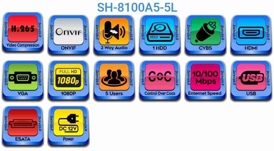 SH-8100A5-5L