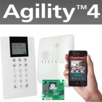 קיט Agility4 כולל כרטיס רשת, חייגן, לוח מקשים אלחוטי למשתמש ולתכנות המערכת