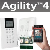קיט Agility4 כולל מודם סלולארי 3G, לוח מקשים אלחוטי למשתמש ולתכנות המערכת