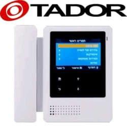 אינטרקום טלוויזיה 2 גידים מסך 4 אינץ דגם TAD-24
